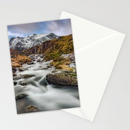 Mountain River Snowdonia Stationery Cards