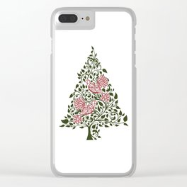 Two Turtle Doves Clear iPhone Case