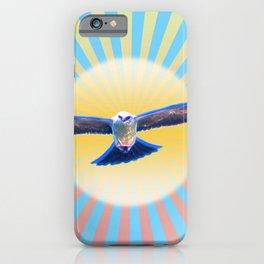 Hawk Starburst iPhone Case