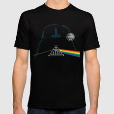 The Dark Side... That's No Moon! Black Mens Fitted Tee 2X-LARGE