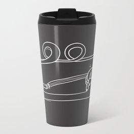 Drawing Straws Metal Travel Mug