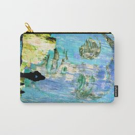 Castaneda and the kids - blue Carry-All Pouch