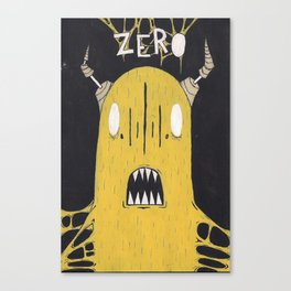 YM - Zerofriends fan art  Canvas Print