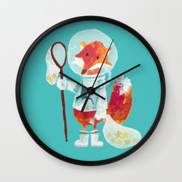 Catch the falling stars Wall Clock