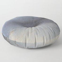 Oil Slick Abstract Art Floor Pillow