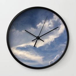 above us only sky Wall Clock