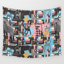 Picasso's cats Wall Tapestry