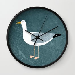 Seagull Standing Wall Clock