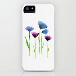 Watercolour Flowers iPhone Case