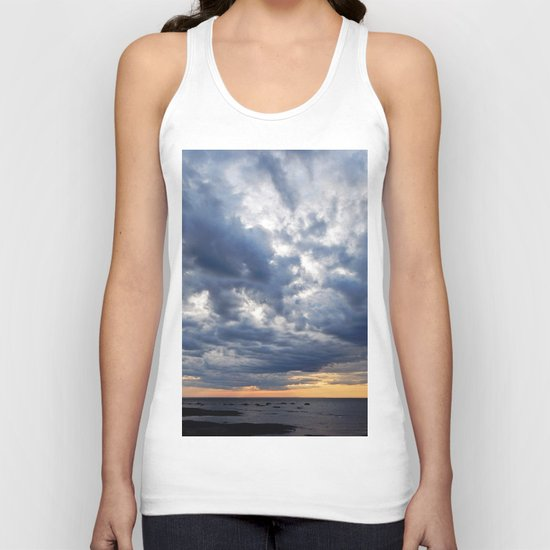Clouds on the Sea Unisex Tank Top