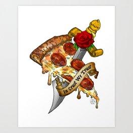 Slice Slice Baby Art Print