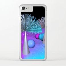 spaghetti deco Clear iPhone Case