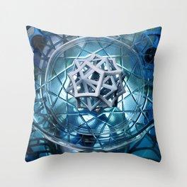 Birth Star Throw Pillow
