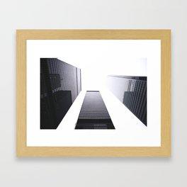 Financial District Framed Art Print