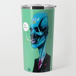 ANTI CANCER MAN Travel Mug