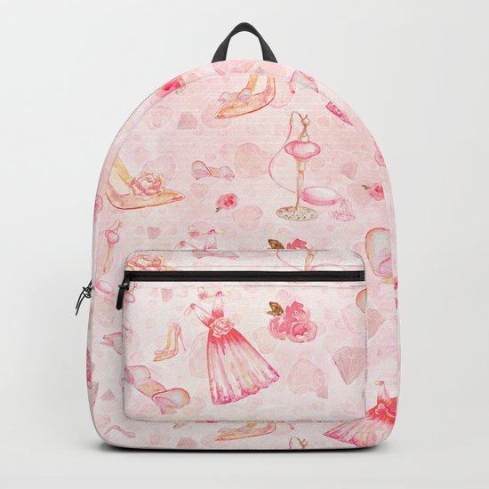 Pink dresses fashion #6 Backpack
