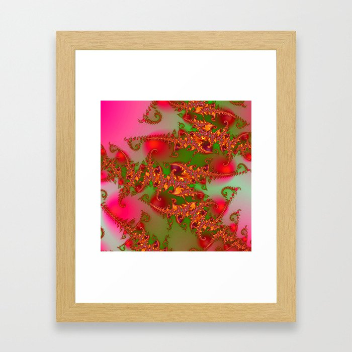 fractals are beautiful -02- Framed Art Print