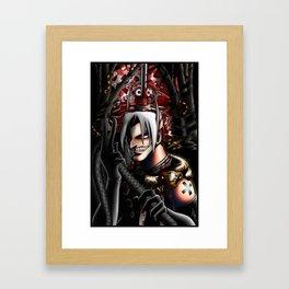 Portrait of the Artist Framed Art Print