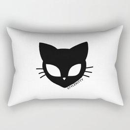 Alien Cat Rectangular Pillow