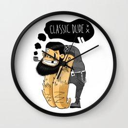 Classic Dude Wall Clock