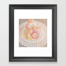 Count Your Blessings Framed Art Print
