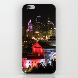 Kansas City At Night iPhone Skin