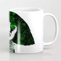 fringe Mugs featuring fringe by fashionistheonlycure
