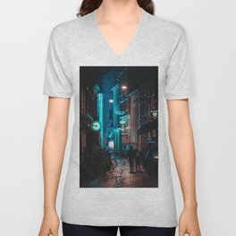 Lost in Town Unisex V-Neck