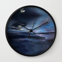 storm Wall Clocks featuring Storm by CreativeByDesign