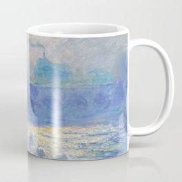 Waterloo Bridge, Sunlight Effect by Claude Monet Coffee Mug
