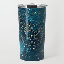 Star Map :: City Lights Travel Mug