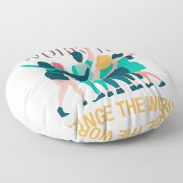 Social Workers Change The World Social Care Gift Floor Pillow