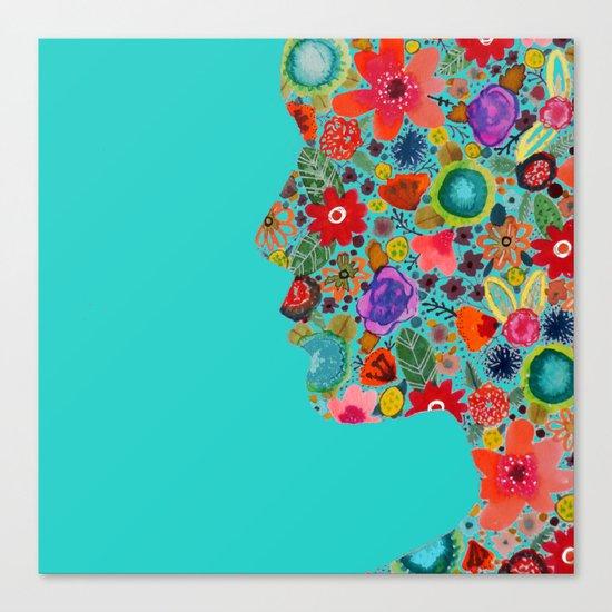 dream on, little flower Canvas Print