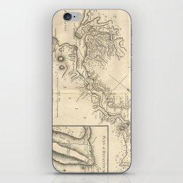 Vintage Map of Istanbul Turkey (1784) iPhone Skin