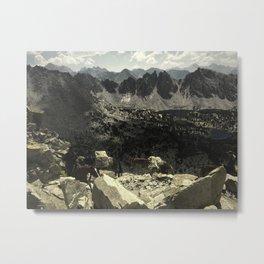 kearsarge pass mules Metal Print