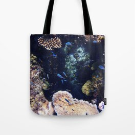 Fish on the Reef Tote Bag