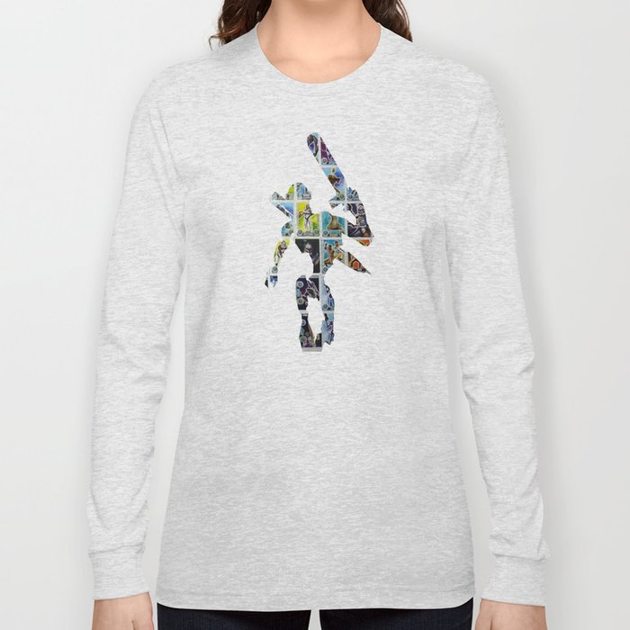 Cut StarWars Collage 6 Long Sleeve T-shirt