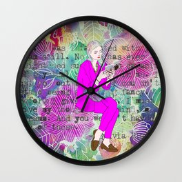 I must give you my thoughts, my mind, my dreams Wall Clock