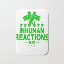 Inhuman Reactions Bath Mat