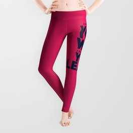 Sometimes you win, sometimes you learn, life lesson, typography inspiration , think positive vibes Leggings