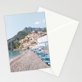Amalfi Coast Beach Stationery Cards