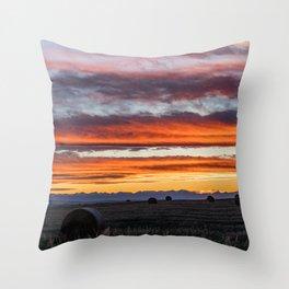 Gallatin Valley Throw Pillow