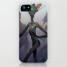 Twisted Wisp Eaters iPhone Case