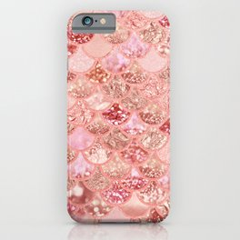 Living Coral Mermaid Scales iPhone Case
