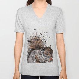 Squirrel Unisex V-Neck