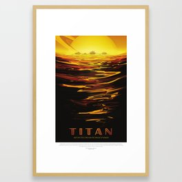 Titan Framed Art Print