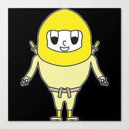 Ninja Egg Canvas Print
