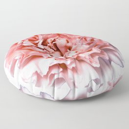 PINK FLOWER - GENTLE CARNATION Floor Pillow