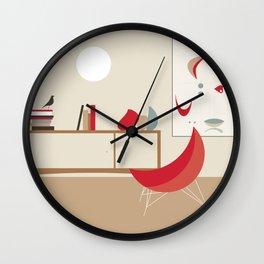 Inside Mid-century modern 120 Wall Clock