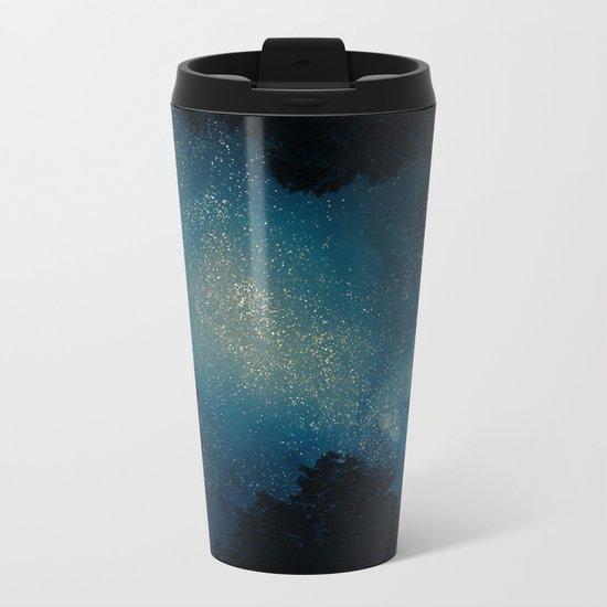 Stars & Trees Metal Travel Mug